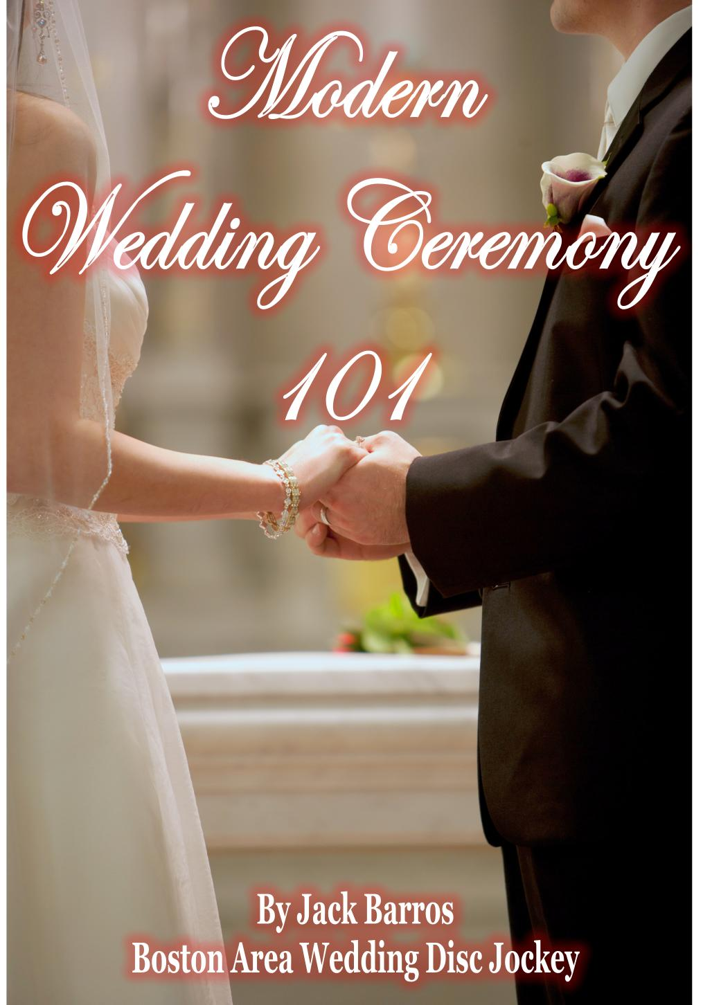 Modern_Wedding_Ceremony_101 Kindle Cover