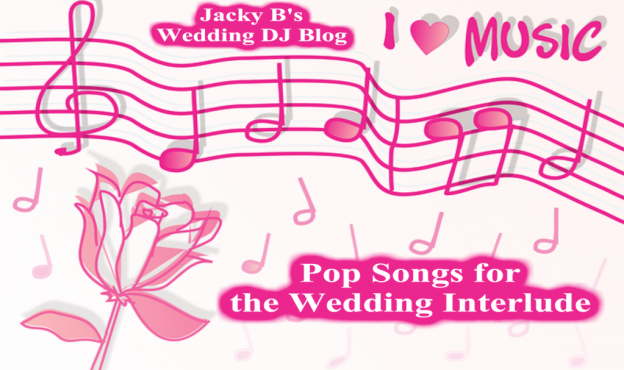 Pop Songs for your Wedding Interlude