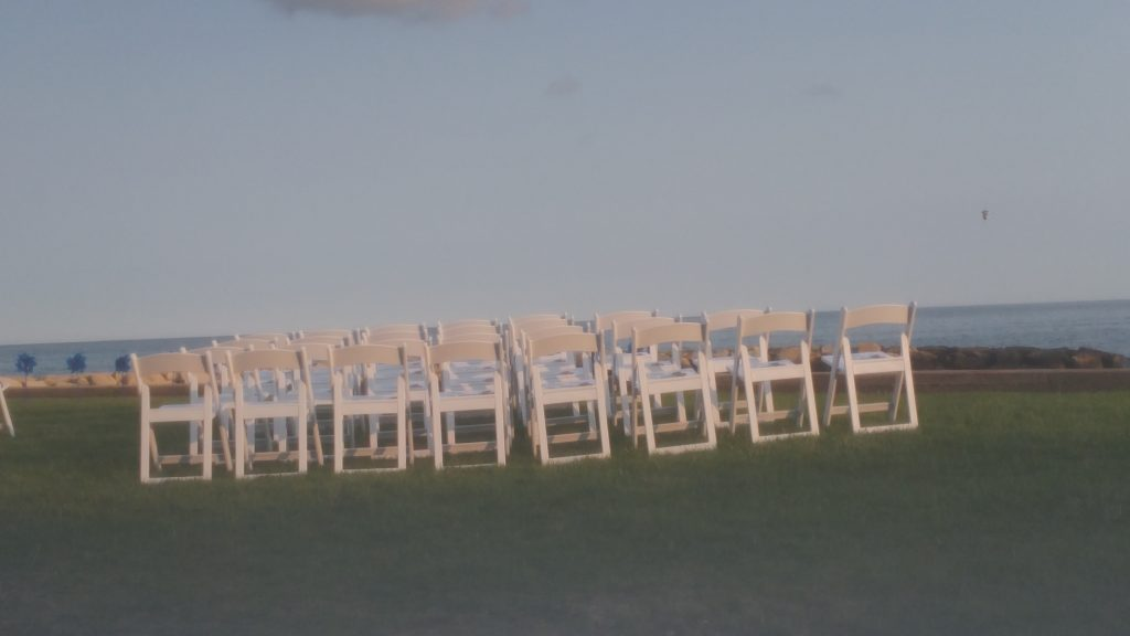 Wedding Ceremony on the North Atlantic Coast