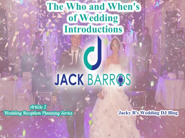 Who and When of Wedding Introductions