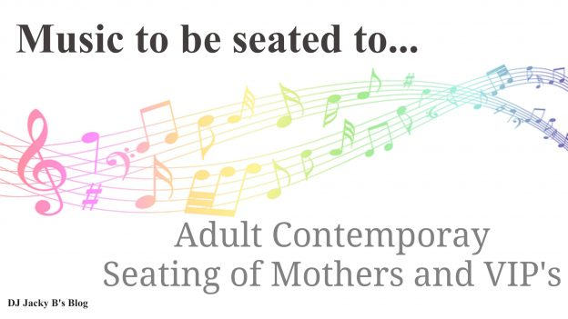 Adult Contemporary Seating of the Mothers and VIP's Songs